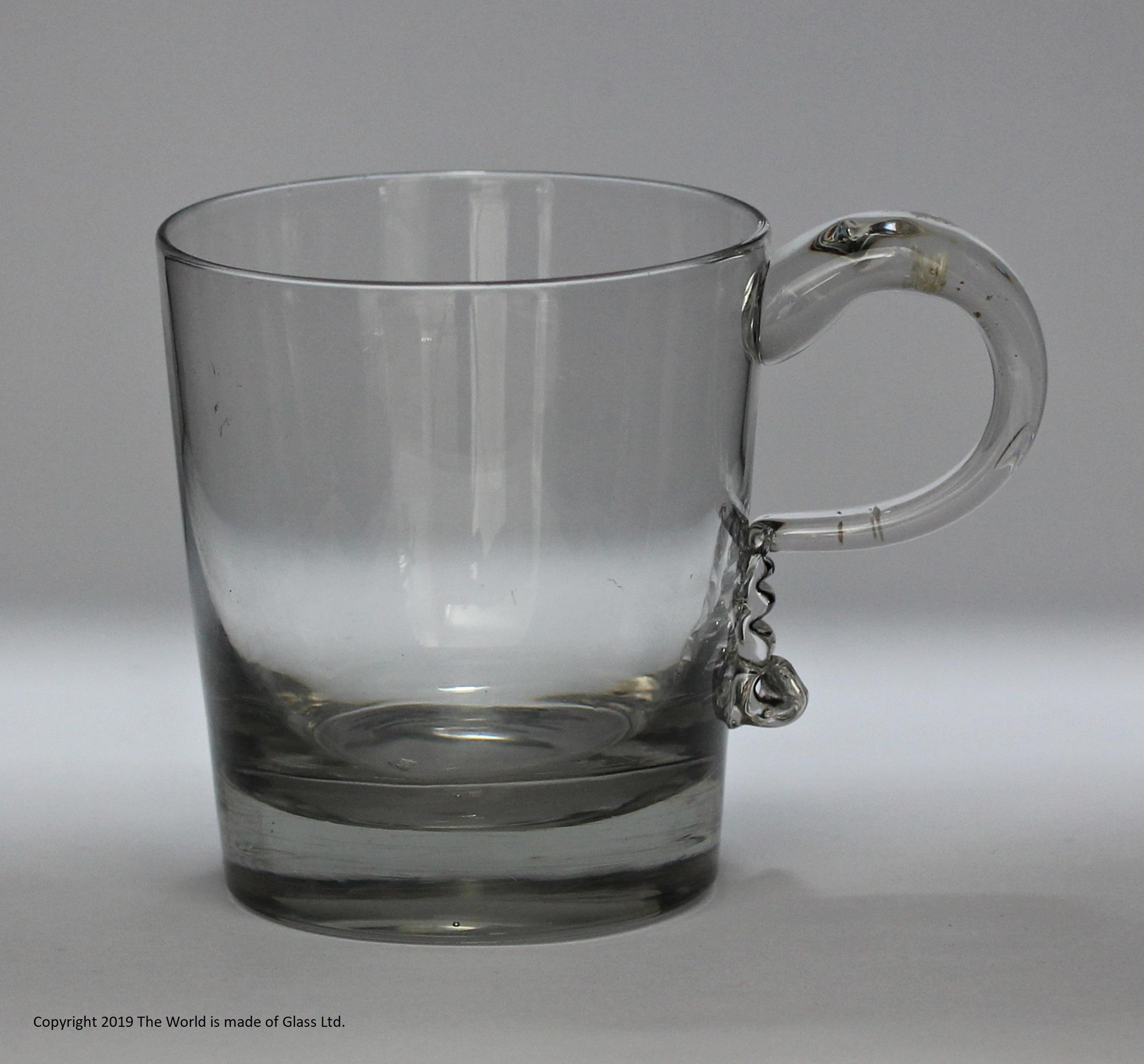 Late Georgian half pint tankard